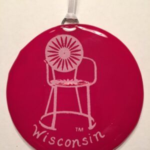 Union chair ornament_Wisconsin