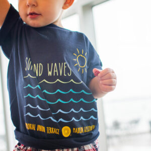 Sun and Waves T-shirt (2)